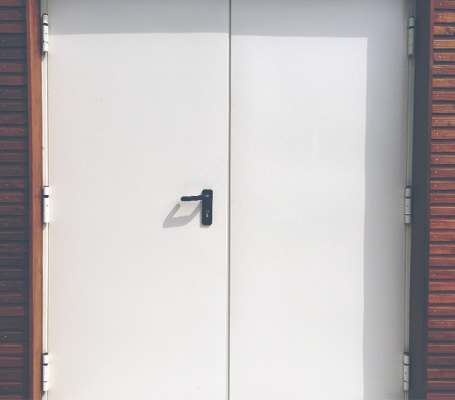 Porte Coupe Feu Chaufferie Sotrafeu Galerie R Alisations Divers
